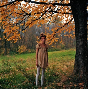 woman-in-forest